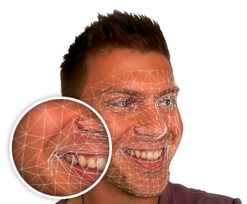 Face mesh for emotion recognition from videoconferences